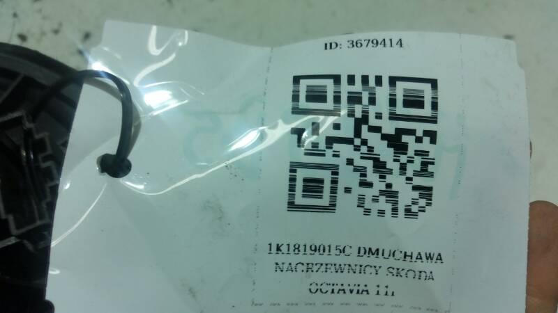 1K1819015C DMUCHAWA NAGRZEWNICY SKODA OCTAVIA 11r