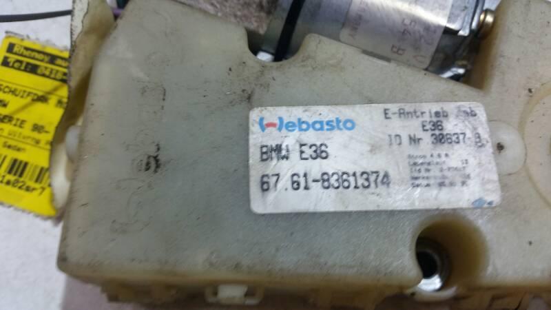 8361374 SILNICZEK SZYBERDACHU BMW E36