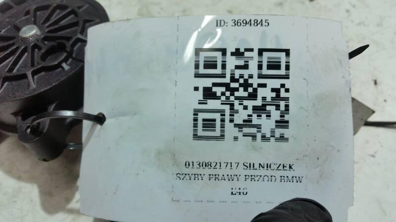 0130821717 SILNICZEK SZYBY PRAWY PRZOD BMW E46