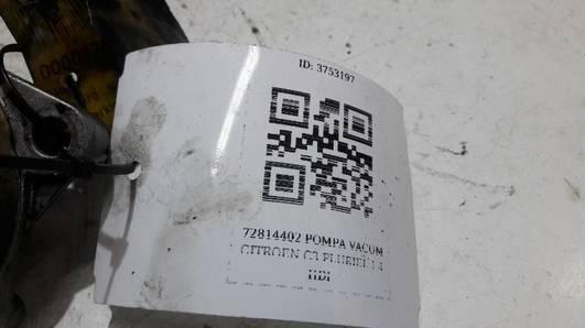 72814402 POMPA VACUM CITROEN C3 PLURIEL 1.4 HDI