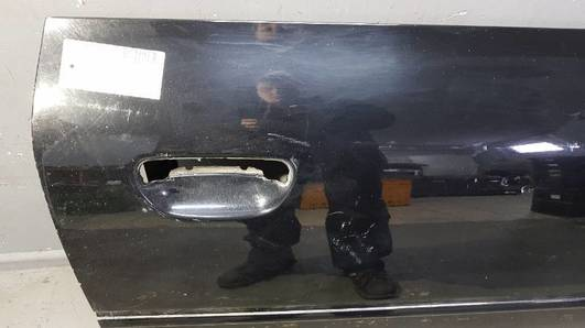 Drzwi Prawy Przod Audi A3 8l 3d Czarne Drzwi Omotopl Części Do