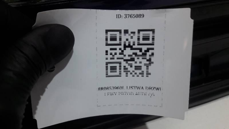 8R0853960L LISTWA DRZWI PRAWY PRZOD AUDI Q5