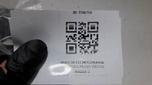 BHN1-50-152 MOCOWANIE ZDERZAKA PRAWY PRZOD MAZDA 3