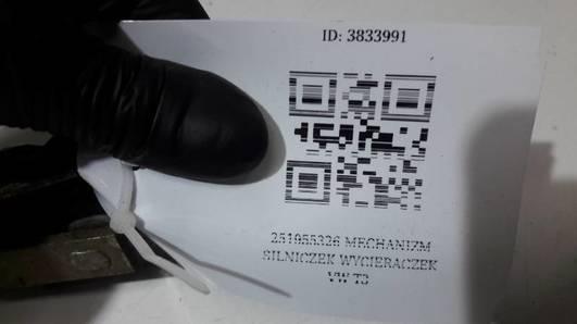 251955326 MECHANIZM SILNICZEK WYCIERACZEK VW T3