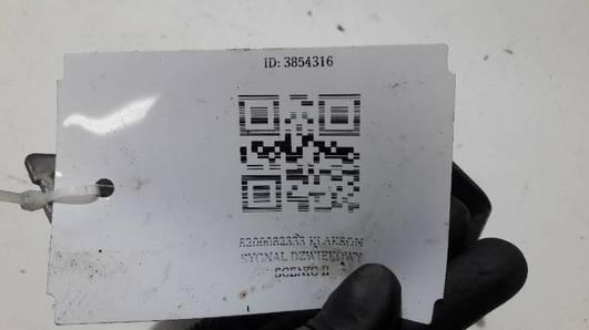 8200082333 KLAKSON SYGNAL DZWIEKOWY SCENIC II
