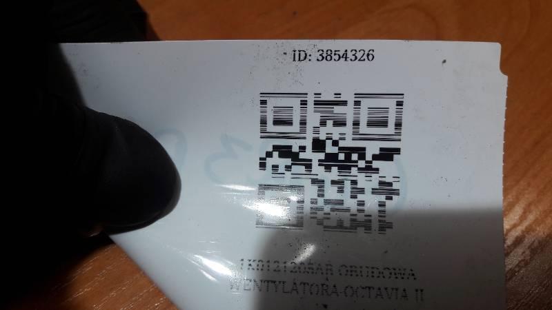 1K0121205AB OBUDOWA WENTYLATORA OCTAVIA II