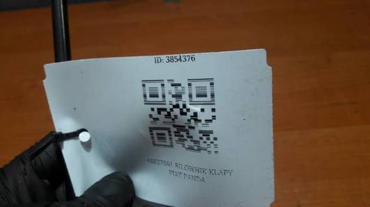 46827091 SILOWNIK KLAPY FIAT PANDA