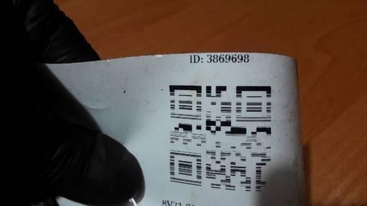 8V21-7550-BA SPRZEGLO FORD FIESTA MK7 1.4 TDCI