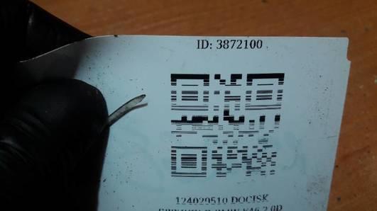 124029510 DOCISK SPRZEGLO BMW E46 2.0D