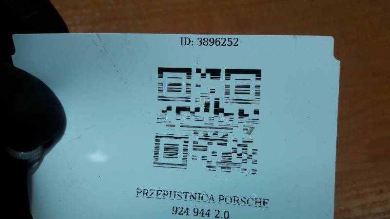 PRZEPUSTNICA PORSCHE 924 944 2.0