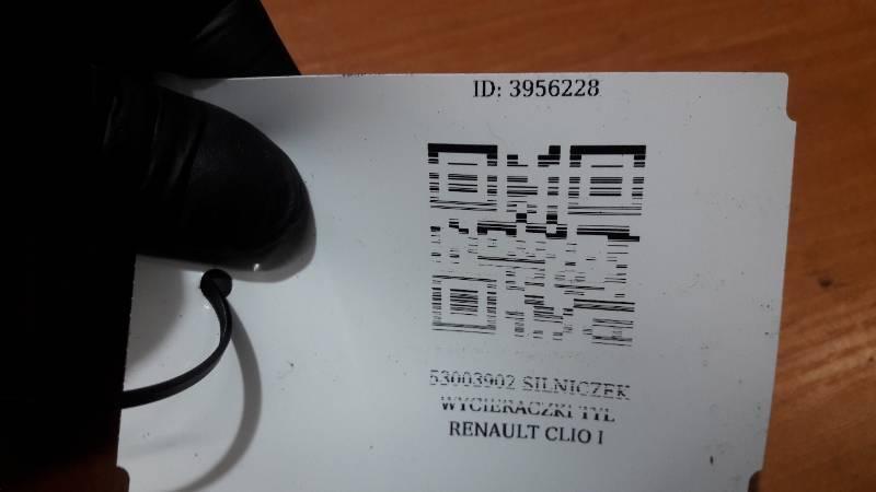 53003902 SILNICZEK WYCIERACZKI TYL RENAULT CLIO I