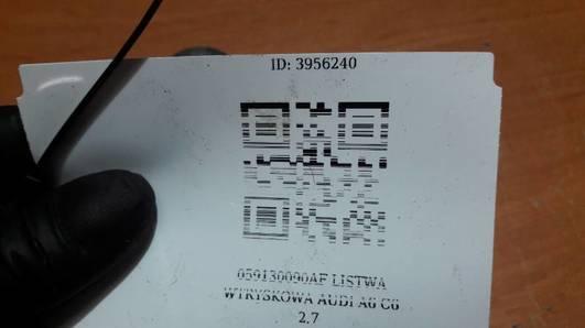 059130090AF LISTWA WTRYSKOWA AUDI A6 C6 2.7
