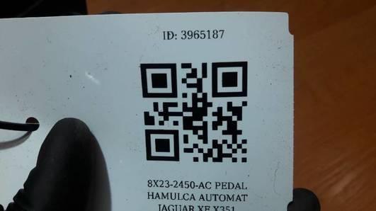 8X23-2450-AC PEDAL HAMULCA AUTOMAT JAGUAR XF X351