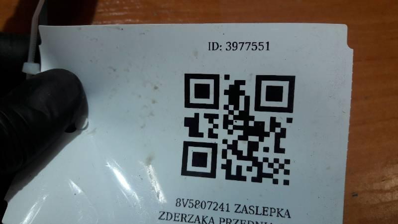 8V5807241 ZASLEPKA ZDERZAKA PRZEDNIA AUDI A3 SZARA