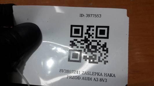 8V3807241 ZASLEPKA HAKA PRZOD AUDI A3 8V3