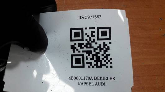 4B0601170A DEKIELEK KAPSEL AUDI