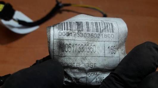 00517330360 INSTALACJA DRZWI PRAWY TYL PANDA II