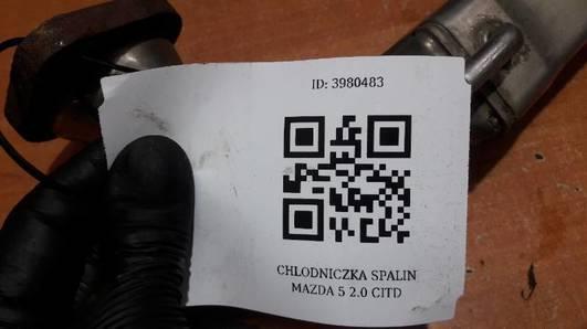 CHLODNICZKA SPALIN MAZDA 5 2.0 CITD