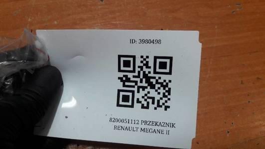 8200051112 PRZEKAZNIK RENAULT MEGANE II