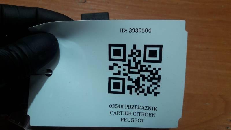 03548 PRZEKAZNIK CARTIER CITROEN PEUGEOT