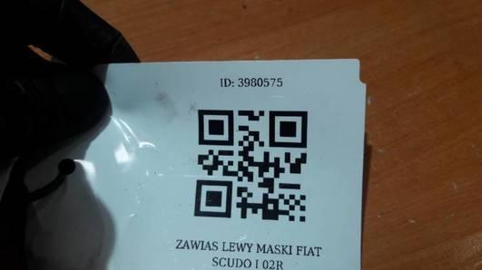 ZAWIAS LEWY MASKI FIAT SCUDO I 02R