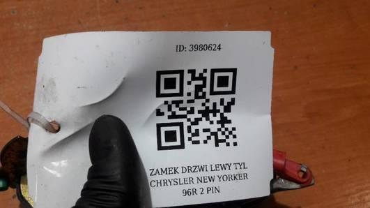 ZAMEK DRZWI LEWY TYL CHRYSLER NEON 96R 2 PIN