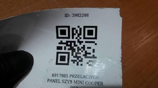 6917985 PRZELACZNIK PANEL SZYB MINI COOPER R50