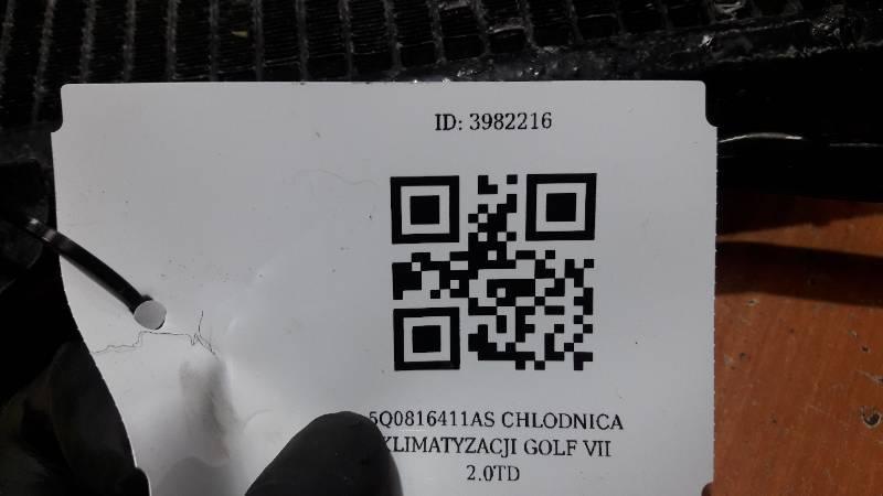 5Q0816411AS CHLODNICA KLIMATYZACJI GOLF VII  2.0TD
