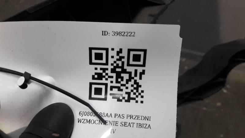 6J0805588AA PAS PRZEDNI WZMOCNIENIE SEAT IBIZA IV