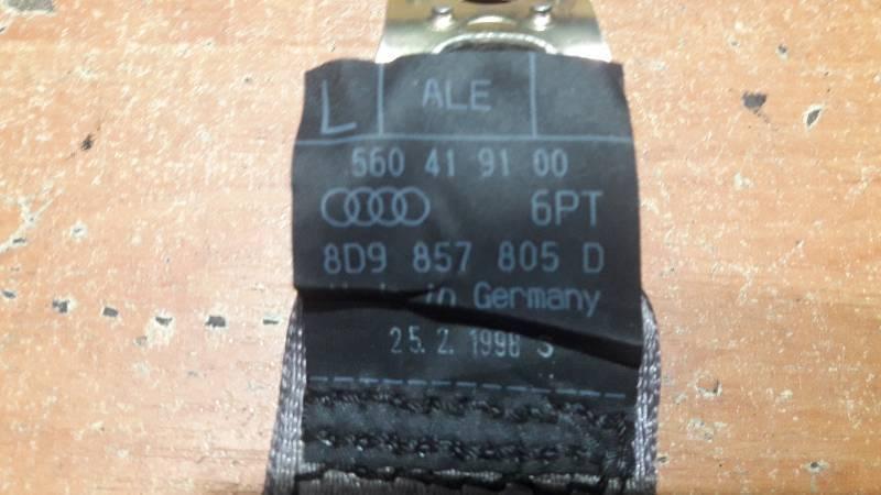8D9857805D PAS BEZPIECZENSTWA LEWY TYL AUDI A4 B5