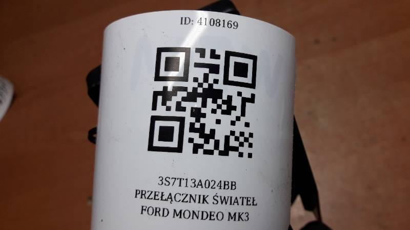3S7T13A024BB PRZEŁĄCZNIK ŚWIATEŁ FORD MONDEO MK3