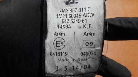 7M3857811C PAS LEWY TYL VW SHARAN 7M
