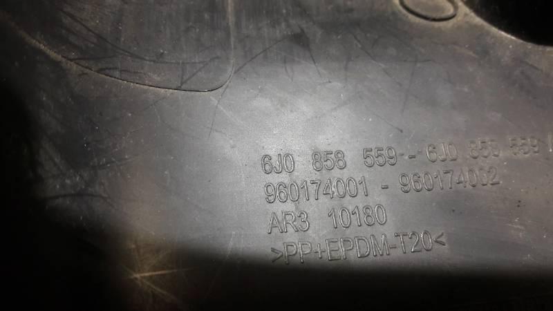 6J0858559 OBUDOWA OSLONA STACYJKI SEAT IBIZA IV