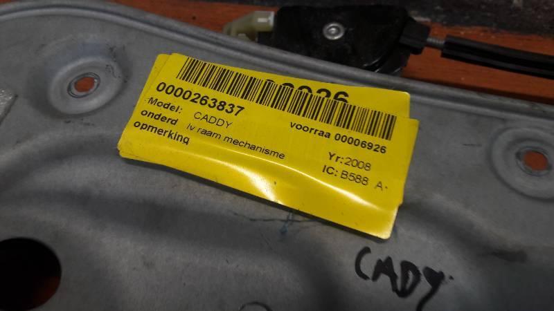 1T0837755L VW CADDY MECHANIZM SZYBY LEWY PRZOD