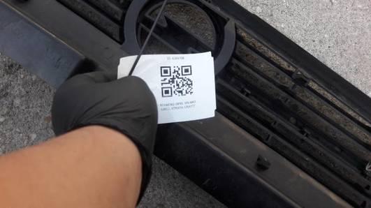 91166765 OPEL VIVARO GRILL ATRAPA  GRAFIT