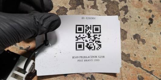 B569 PRZELACZNIK SZYB FIAT BRAVO 1999