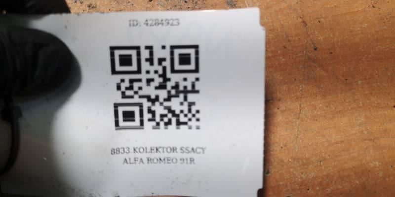 8833 KOLEKTOR SSACY ALFA ROMEO 91R