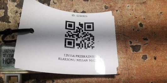 12V15A PRZEKAZNIK KLAKSONU NISSAN MAZDA