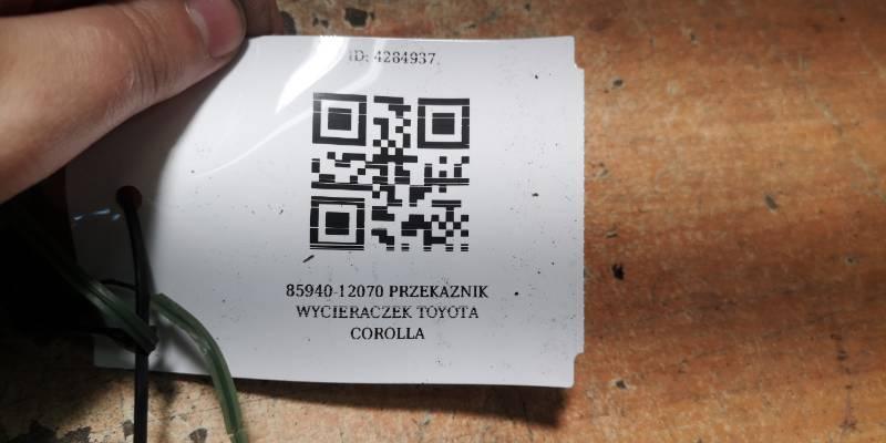 85940-12070 PRZEKAZNIK WYCIERACZEK TOYOTA COROLLA