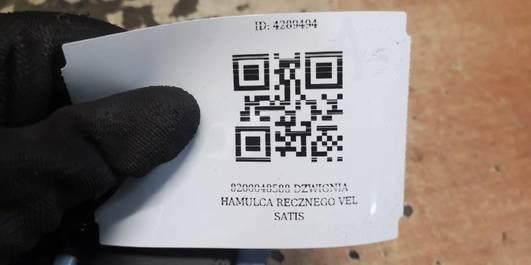 8200048588 DZWIGNIA HAMULCA RECZNEGO VEL SATIS