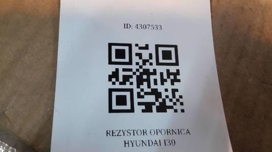 REZYSTOR OPORNICA  HYUNDAI I30