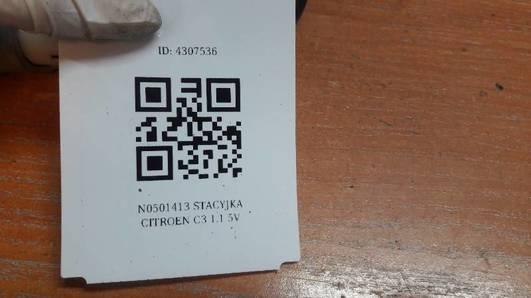 N0501413 STACYJKA CITROEN C3 1.1 5V