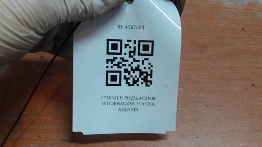 173654LH PRZELACZNIK WYCIERACZEK TOYOTA AVENSIS