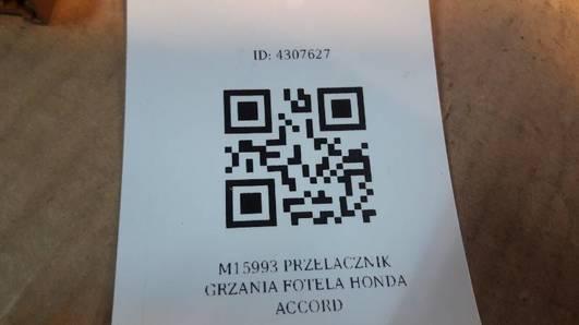 M15993 PRZELACZNIK GRZANIA FOTELA HONDA ACCORD