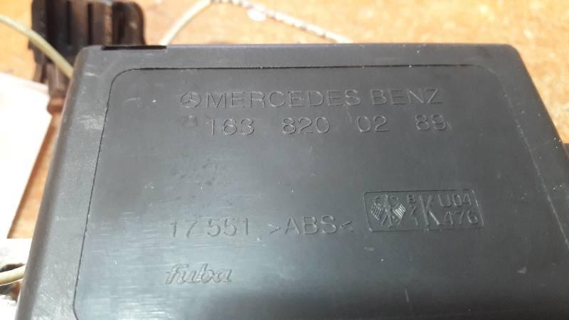 1638200289 WZMACNIACZ ANTENY MERCEDES W163