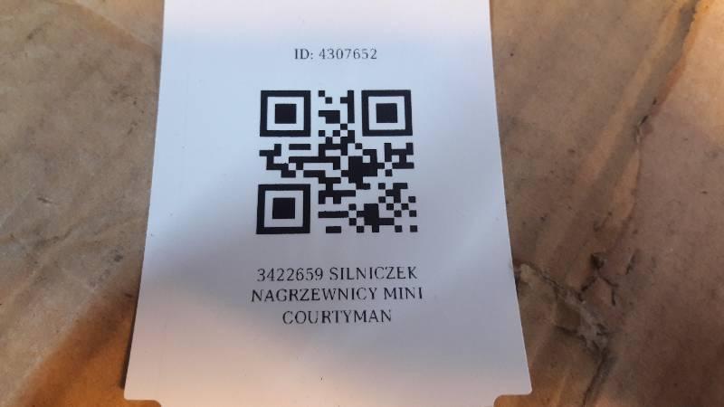 3422659 SILNICZEK NAGRZEWNICY MINI COURTYMAN