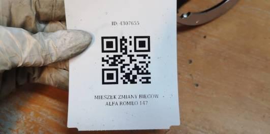 MIESZEK ZMIANY BIEGOW  ALFA ROMEO 147