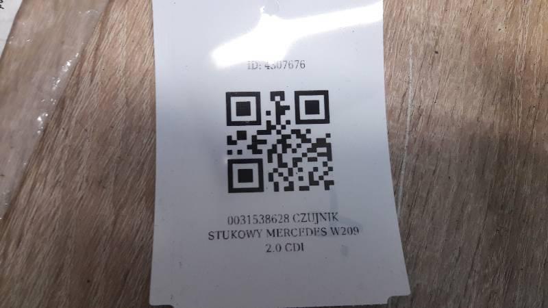 0031538628 CZUJNIK STUKOWY MERCEDES W209 2.0 CDI