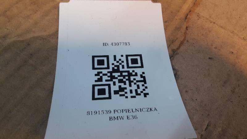 8191539 POPIELNICZKA BMW E36