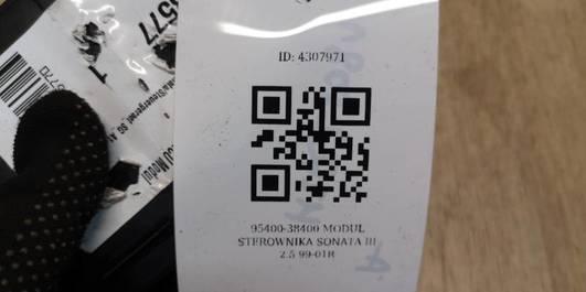 95400-38400 MODUL STEROWNIKA SONATA III 2.5 99-01R